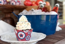 July 4th Cupcake Ideas / by Bella Cupcake Couture