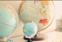 Someday I'm going to travel the world:) / by Christal Bevans