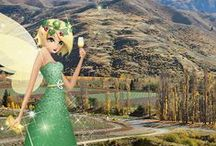Air New Zealand Fairy / The Air New Zealand Fairy waves her wand and grants one wish a day on Twitter - big or small. Wish her today @AirNZFairy. She loves pretty, sparkly things like... / by Air New Zealand
