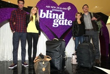 Blind Gate  / Air New Zealand has got that loving feeling for Valentine's Day with the UK's first ever live dating show to be held at London Heathrow today. Two lucky singletons have been matched from five would-be soulmates, then whisked off for a romantic long weekend in LA travelling on Air New Zealand's unique 'Cuddle Class' Economy Skycouch™ seats to see what blossoms.