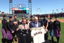#AirNZGiants Air New Zealand Teams Up with the San Francisco Giants / San Francisco Giants fans were in for a uniquely Kiwi experience at their Friday night home game. Here is all the action! #AirNZGiants  / by Air New Zealand