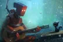 ro ro robots / by Heather Barnes