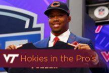 Hokies in the Pro's / by Virginia Tech Hokies Athletics