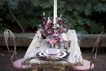 Fanciful Tea Parties / Over the top tea party decor, dishes, treats, favors and flowers / by Girl in Pink