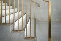 stairs, storage, and millwork / by Tiffany Nichols