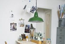 workspace / by gluestickgirl