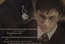No post on Sundays / Harry Potter / by Foxy Kazoo