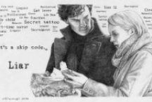 Cluing for looks. / Sherlock / by Foxy Kazoo
