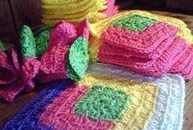 Crocheting / by Patricia Jones