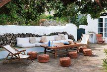 backyard / by Nerissa, The New Domestic