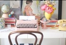 Work at home / by Yolanda Gómez