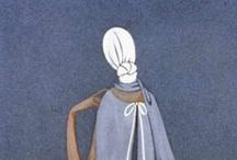 Le bleu / During a journey to Italy in the 1920s, Jeanne Lanvin discovered this celestial, mauve-tinted blue while admiring a Fra Angelico Fresco.  Jeanne Lanvin made it a trademark of the Lanvin House. / by LANVIN Paris