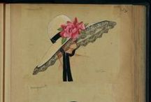 Les chapeaux / When Jeanne Lanvin was 16 years old, she created her first hat while working as apprentice with a milliner. It was the success of her hats designs that led her to launch her own business and to designed the hats of the most fashionable Parisiennes at the time.  / by LANVIN Paris
