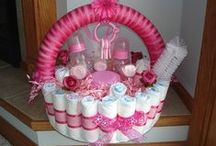 Diaper Cakes / by Kendra Guy