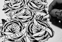 traditional tattoo art. / by Frederik Christensen