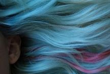 Blue Haired Ladies / A board about women with blue hair, dedicated to my friend Cily / by Davide Mana