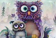 Owl WiMsEy / by Frances Halpin