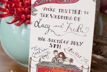 Illustrated Wedding Invitations BPinvites / by Danica Cindell