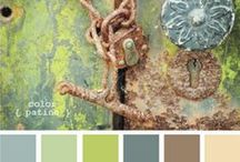 Fabrics, Wallpaper & Colors / Style Design Board, Color Pantone / by Melissa Gobel