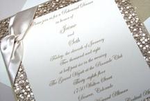 Wedding Invitations / Crafty invitations for your wedding / by Pretty Pear Bride® | Plus Size Bridal Magazine