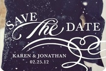 Save The Dates / Save the date ideas for your wedding / by Pretty Pear Bride® | Plus Size Bridal Magazine