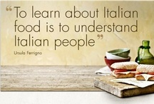 All things Italian! / Being of Italian descent, this was inevitable:)  / by Lisa Granados