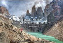 Ƹ̴Ӂ̴Ʒ Travel Inspiration / Quotes and photos which make us want to travel the world! / by EcoCamp Patagonia