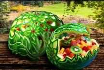 Watermelon art / by Rebecca Brothers