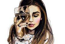 Art & Illustration / by Val ♛