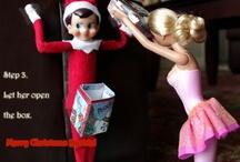 That damn creepy elf! / by Yvonne Valenzuela