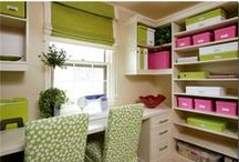 Craft Rooms & Home Offices / by Heather Cox
