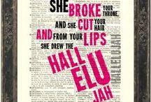 Lyrics / by Regina Lambaren