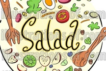"~ SALADS (pasta,taco,lettuce,specialty,potato,tuna,ham,egg,cole slaw,& many more) / This is a board of ""SALADS"" (pasta,taco,lettuce,potato, specialty,etc.) NO SWEET or FRUIT SALADS.Anything other will be deleted. if you want to join this board, just leave your name&username on my ""LEAVE MESSAGE/ ADD ME""board.I will add you as quick as I can. make sure all pins lead directly to the recipe.NO SPAM, ADS,or politics for your own agenda.you will be removed. Together we can make an AWESOME board! Thanks for being part of it. Happy Pinning! Please click ""LIKE.""  :)   / by Denise Cottom"