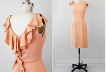 Team Bridesmaid / inspiration for my outfit for Kelly's wedding: peach dress & nude shoes / by Allison Majam