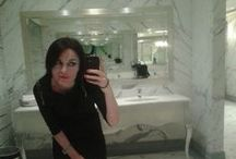 The Selfie place / A classic for selfies? It's the powder room at the Principe! Tag #selfieprincipe to be added on our board.  (All images are given full credit to owners and we obviously claim no rights, if you don't want yours to be included contact us and we'll remove it!) / by Hotel Principe di Savoia