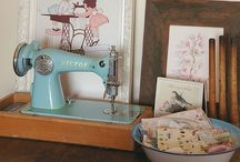 where the magic happens... / pretties for my WorkRoom / by Mary Beth Burrell