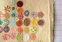 Itchin' to be Stitchin' / counted cross-stitch and hand sewing / by Mary Beth Burrell