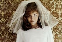 WEDDINGS  through the decades / by Jennie Kay Beauty