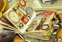 Inspiration Art Journals / Inspiration ideas for art journaling, smash books, and more. / by Crystal Renfrow