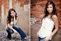 Poses, Senior Girls / Poses of senior girls by other photographers that are a source of inspiration. / by Bellawood Photography