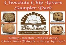 All Natural Gourmet Goodness / www.EdensTouchBread.com  We also have a #CrowdFunding for our storefront. Stop by and support and receive some Yummy #Rewards. Thank You!  http://www.gofundme.com/EdensTouchBread / by Eden's Touch Bread Company