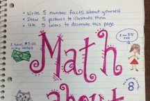 Math / by Emily Gardner