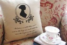Jane Austen / Regency Era 1795-1820 / by Karen Hull