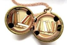 Literary Jewelry, Purses & Clothing / by Karen Hull