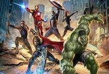 Avengers <3 / More of a Marvel board. They do great stuff and have great actors/actresses.  / by Bex