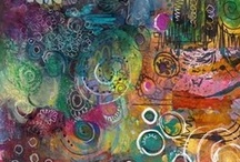 MixMedia - {inspiration} / art journal, painting any mix media works / by refinehere :)