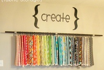 Craft Rooms & More / rooms, organization, storage and oh so much more / by Cherryl Ball