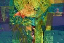 Got the Blues/Greens / by Gail Stivers-Abstract Artist