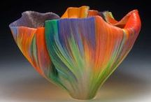 Glass, Pottery and more / by Gail Stivers-Abstract Artist