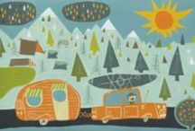 Camping / by Painted Paper